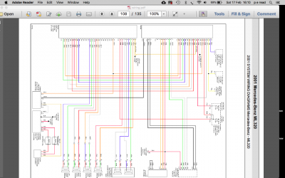 wiring diagrams for a w163 320 radio | MBClub UK - Bringing ... on