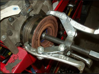 E55 supercharger magnet removal   MBClub UK - Bringing