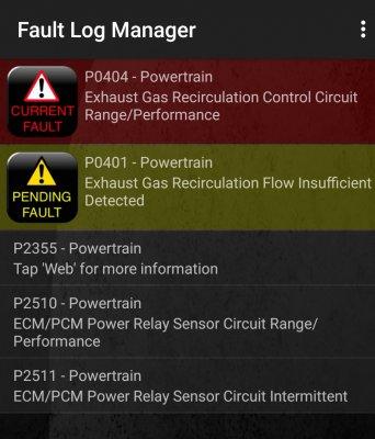 W219 cls320 cdi EGR fault? | MBClub UK - Bringing together Mercedes