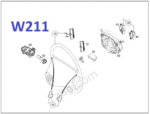 Steering lock W211.png