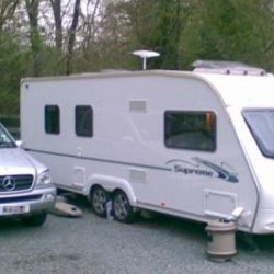 ML270 CDi with ACE Supreme Globestar pitched