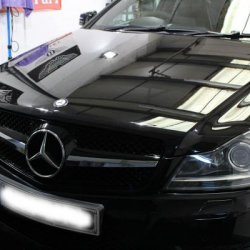 New C63 style grille installed...